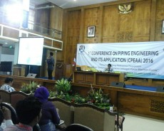 1st Conference on Piping Engineering and Its Aplication